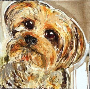 Gizmo dog art